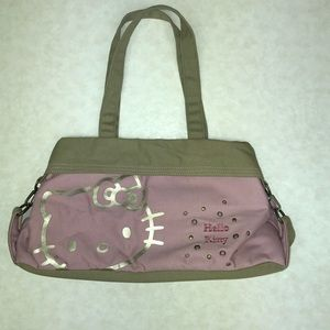 Hello Kitty Dusty Pink And Tan shoulder bag
